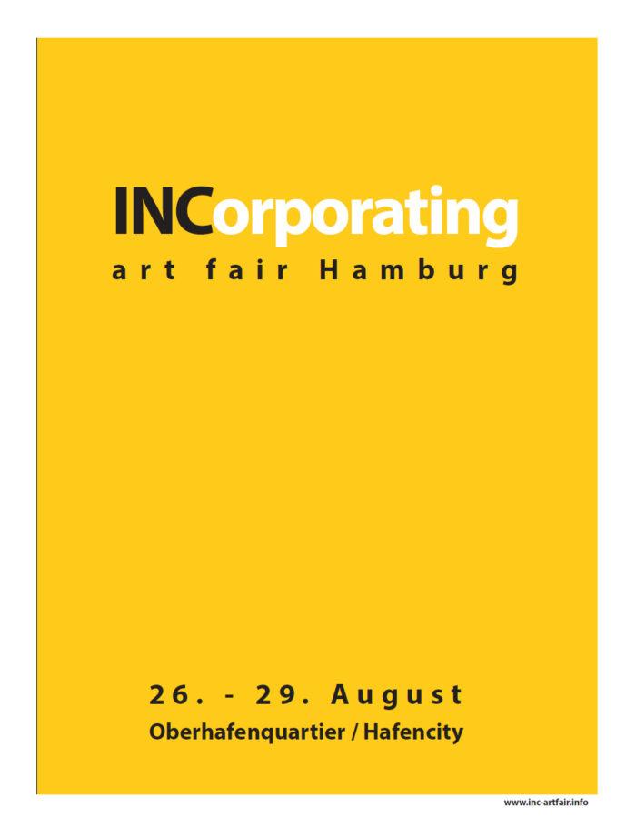 Einladung zur Incorporated art fair Hamburg